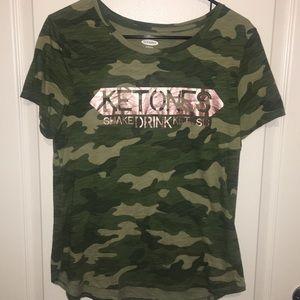 Ketones Cameo Top